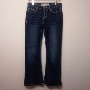 BKE Stella Low Rise Boot Cut Denim Jeans 25